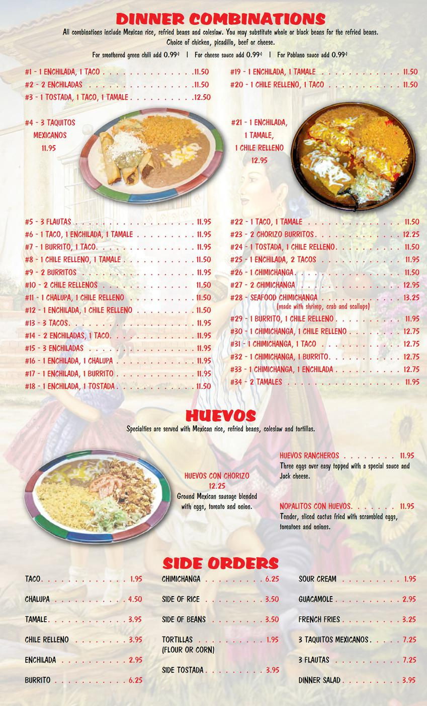... Patio Burritos By Menu Page6 ...